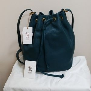 HOBO Brandish dark teal convertible bag